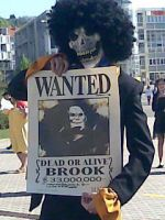 Brook and his wanted poster by warilock
