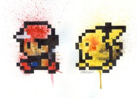 Pokemon Yellow by LukeFielding