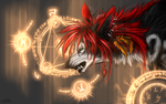 .:magical beginning:. by WhiteSpiritWolf