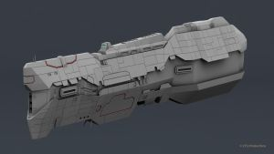 Vaygr Battlecruiser WIP 3 by 2753Productions