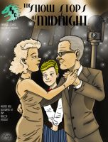 The Show Stops At Midnight Graphic Novel Cover by kaijukid