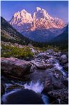 An Evening in Cascade Canyon by wyorev