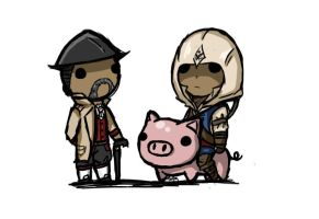 Its all about pigs man by zetsumeininja