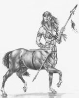 Female Centaur by narufag