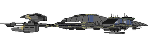 Star Wars HkD Recusant-class Light Destroyer by Seeras