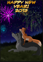 Happy new year by RukiFox