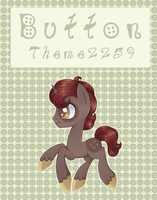Auction - Pony Adopt - Button by sararini