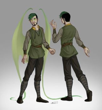 Antisepticeye concept - Former look by maskman626