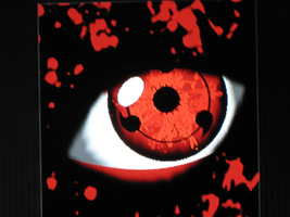 Realistic Sharingan Emblem by magicbiped