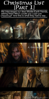 A Middle-Earth Christmas List [Part 1] by Sapphire-Arkenstone