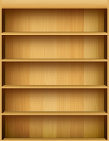 bookshelf by Were-wolf-101