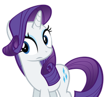 Rarity Unsure by DrDraze