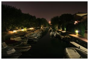 Night Harbour 4. by bwaa