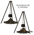 TW3D Campfires by TW3DSTOCK