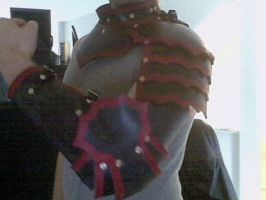 Gothic Gorget, Pauldron, Arm by Tulloran