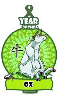 Year of the Ox/ Bull/ Cow by ElementJax