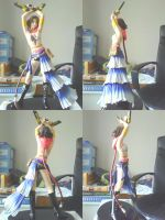 Final Fantasy X-2 Yuna Vinyl Statue by ShaianWillems