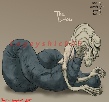 The Lurker [Little Nightmares OC] by Cageyshick05