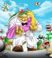The brightest day of Bowser by karuma9