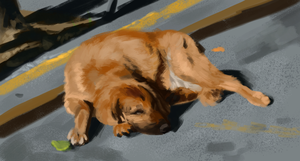 Daily Study #8: Sleeping Dog by Brainmatters