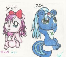 Giggles and Petunia by xxjessxxo