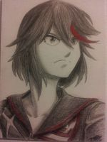 Ryuko and Senketsu (revamped) by purple-diamond-91