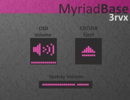 Myriad Base 3rvx by AlbinoAsian