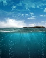 Ocean Bg Stock by Moonglowlilly