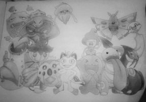 The Rocket Project (Complete Black and White) by mypokeart