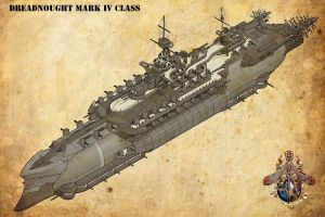 Dreadnaught Mark IV by Riseofciv2