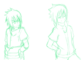 WIP: SasuSasu opposites by Tears-of-trinity