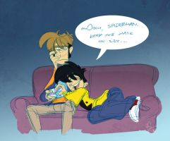 penny arcade - uncomfortable by chirart