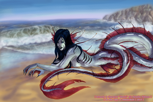 Washed ashore - Color by Evilduckie227