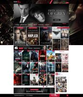 MovieSite Template by axds