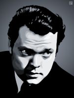 Orson Welles by monsteroftheid