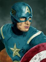 Captain America by Rapsag