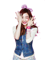SNSD Tiffany Kiss Me Baby-G Casio ~PNG~ by JaslynKpopPngs