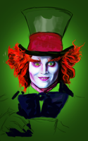 The Mad Hatter WIP 2 by CloudStrife1993