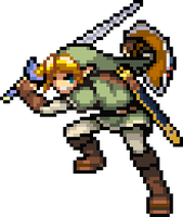 Pixel Link by Max2809