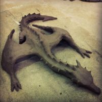 Clay Dragon #2 by TheSEB93
