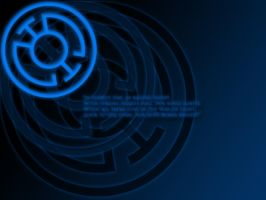 Blue Lantern Oath Wallpaper by stampedeofxflames