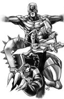 Thunderbolts by LucGrigg