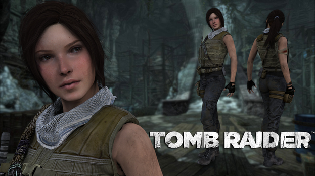 Tomb Raider Guerilla HD  by Lerova by Lerova
