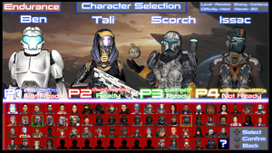Alliance - Character Selection Screen by benoski