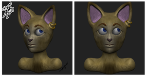 Speed Sculpt - Cat by AmeliaWolfe