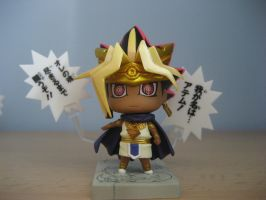 YGO One Coin figurines :Atemu: by Els-e