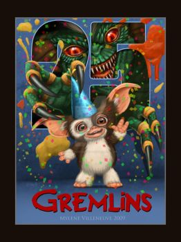 Tribute to Gremlins by PrincessTigerLili