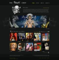 thcsmokeshop site by ijographicz