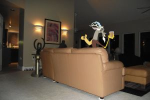 Discord in the Living room by Venom2204