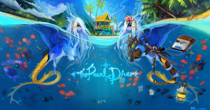 [LD]Solstice-The Pearl Diver[CLOSED!Thankyou!] by Sapphu-Adopts